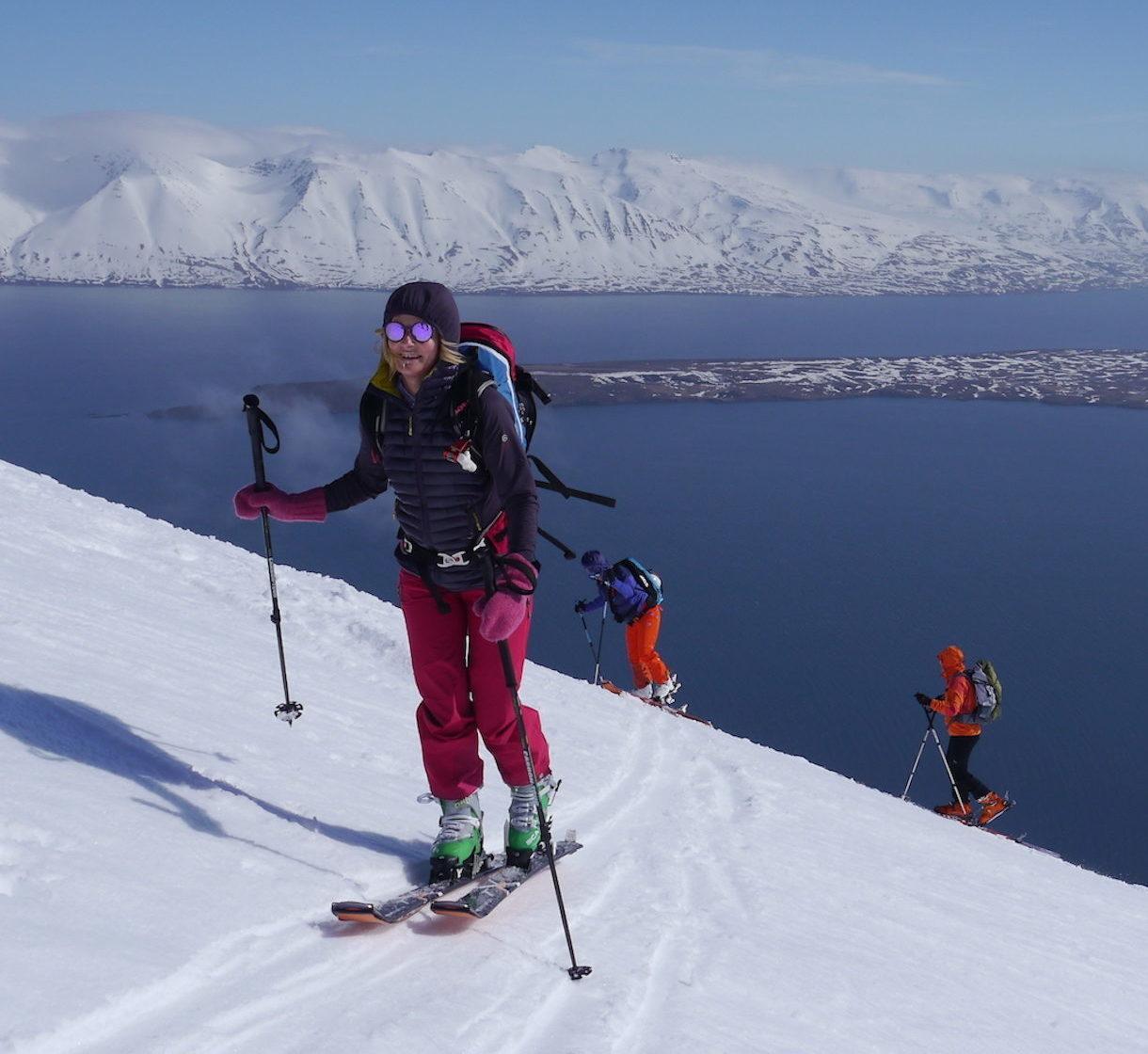 Skitouren in Island, Trollaskagi