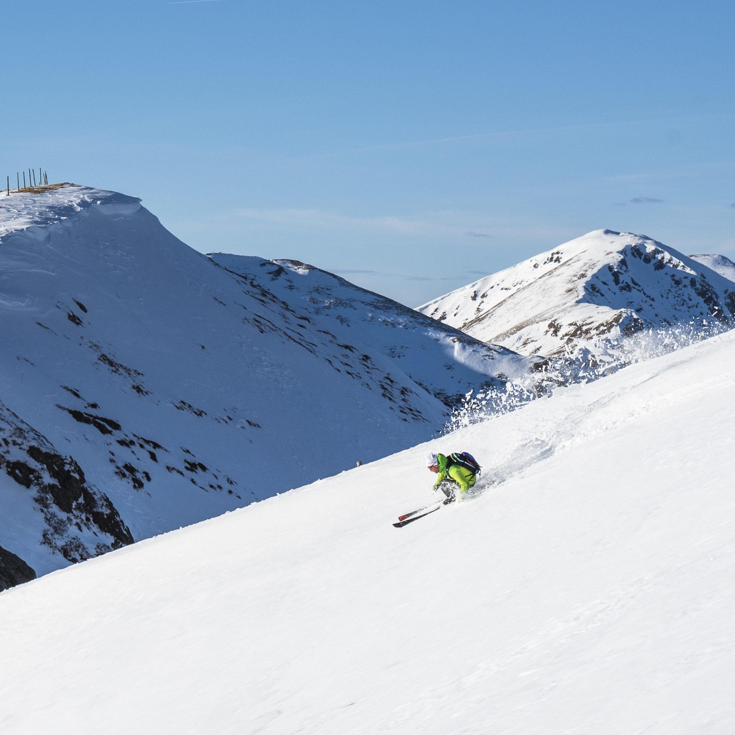 Skitouren Durchquerung Nockbergetrail: Wir haben´s erfunden!