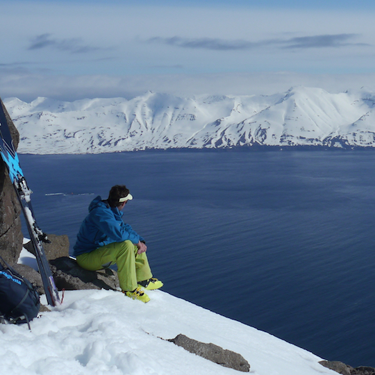 Under an Arctic Sky: Skitouren in Island