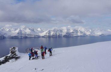 Skitouren Lyngen Norwegen Storhaugen05