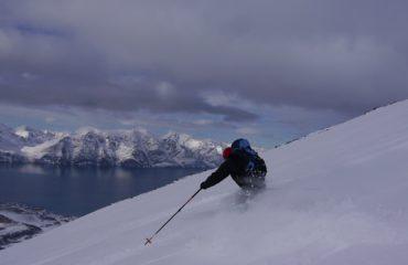 Skitouren Lyngen Norwegen Storhaugen06