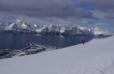 Skitouren Lyngen Norwegen Storhaugen07