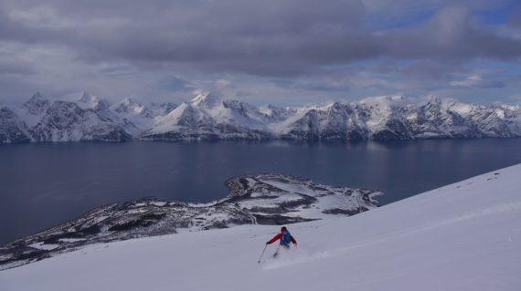 Skitouren Lyngen Norwegen Storhaugen09
