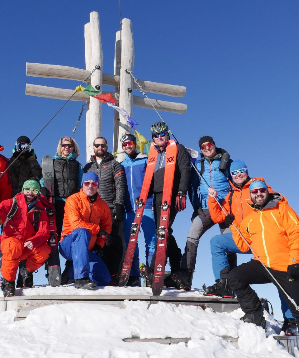 Skitouren Falkert